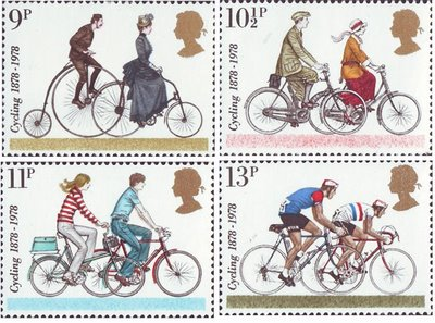 The British 1978 cycling set.