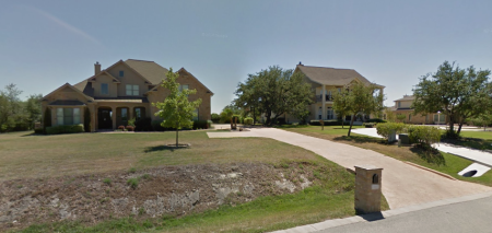"The a couple of the ""modest"" houses on Blazyk Drive. (Picture from Google Streetview.) (Click pix to enlarge.)"