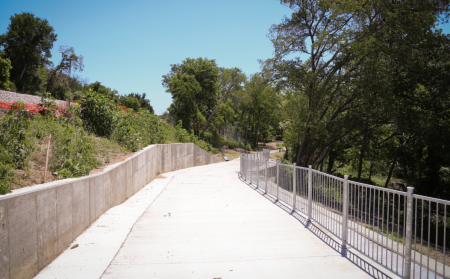 Picture from the City of Austin Walnut Creek Trail System website.