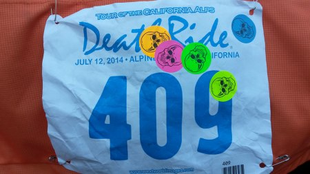 Having that last sticker put on my bib was the sweetest moment of the ride.